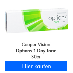 CooperVision Options 1 Day Toric