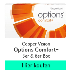 Cooper Vision Options Comfort Plus