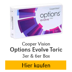 Cooper Vision Options Evolve Toric