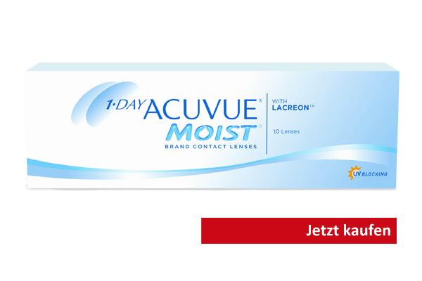 Kontaktlinsen Acuvue Moist mit UV-Schutz