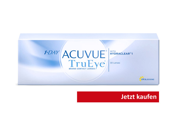 Kontaktlinsen Acuvue 1Day TrueEye mit UV-Schutz