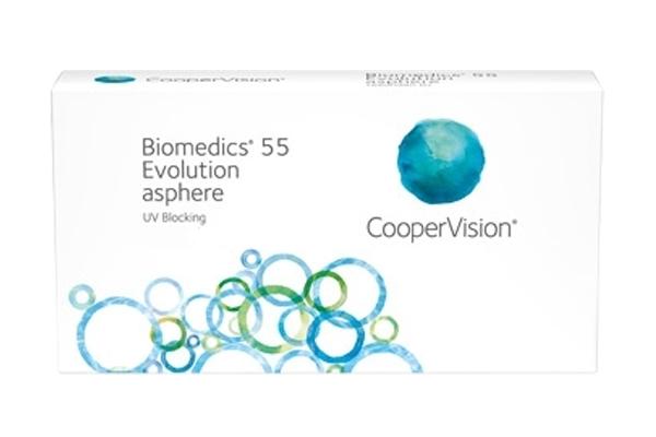 Kontaktlinsen Biomedics 55 Evolution mit UV-Schutz