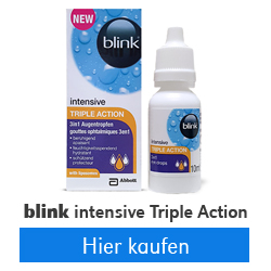 Blink intensive Triple Action Augentropfen